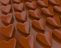 Chocolate candy`s Stock Photo