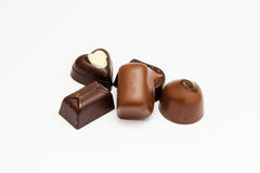 Chocolate candy selection Stock Image