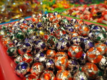 Chocolate. The candy is sold in the street markets Royalty Free Stock Photos