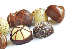 Chocolate candy variety Stock Image