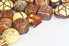 Chocolate candy variety Stock Photography