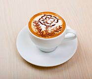 Chocolate cappuccino Stock Photo