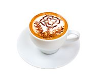 Chocolate cappuccino Royalty Free Stock Image