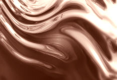 Chocolate or caramel Royalty Free Stock Images