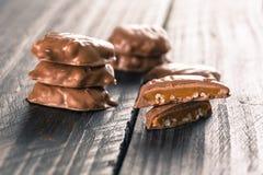 chocolate caramel Stock Photography