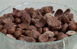 Chocolate cereal Stock Images