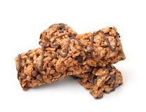 Chocolate cereal bars Royalty Free Stock Photo