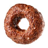 Chocolate cereal ring isolated Royalty Free Stock Photo