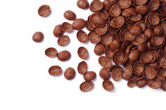 Chocolate cereals Royalty Free Stock Photo