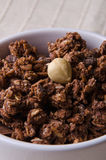 Chocolate cereals Stock Photo
