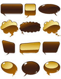 Chocolate chat Stock Image