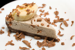 Chocolate cheese cake Stock Images