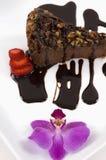 Chocolate Cheese Cake Stock Photography