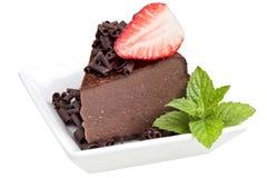 Chocolate cheesecake Royalty Free Stock Photo
