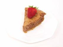 Chocolate cheesecake Stock Image