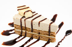 Free Chocolate Cheesecake Royalty Free Stock Image - 36985846