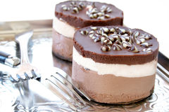 Chocolate CheeseCake Royalty Free Stock Photos