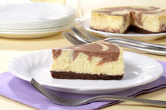 Chocolate cheesecake Royalty Free Stock Image