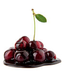 Chocolate cherry Royalty Free Stock Images