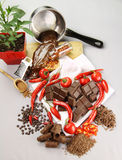 Chocolate And Chilies Stock Image