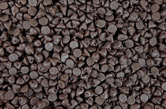 Chocolate chip background Stock Photos
