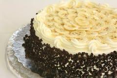 Chocolate chip banana cake Royalty Free Stock Images