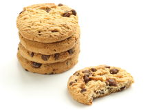 Chocolate Chip Biscuits Stock Image
