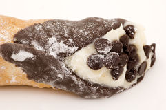 Chocolate Chip Cannoli Royalty Free Stock Photo