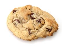Chocolate Chip Cookie. Freshly baked ready to be snack stock photos