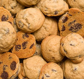 Cookie background Stock Images