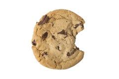Chocolate Chip Cookie - Bite Taken Stock Image