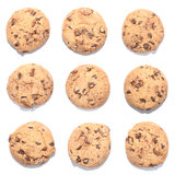 Chocolate chip cookie collection Royalty Free Stock Image
