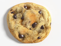 Chocolate Chip Cookie. 3d illustration of a chocolate chip cookie royalty free illustration