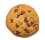 Free Chocolate Chip Cookie Isolated On White Background. Royalty Free Stock Photography - 71361617