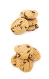 Chocolate chip cookie isolated Royalty Free Stock Photography