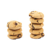 Chocolate chip cookie isolated Royalty Free Stock Photo