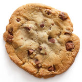 Chocolate chip cookie stock image
