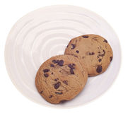 Chocolate Chip Cookie Snack Royalty Free Stock Images