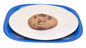 Chocolate Chip Cookie Snack Stock Image