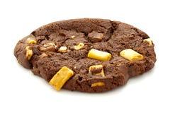 Chocolate Chip Cookie triple Imágenes de archivo libres de regalías