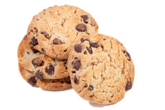 Chocolate Chip Cookies. Royalty Free Stock Image