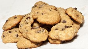 Free Chocolate Chip Cookies Stock Photos - 16711923