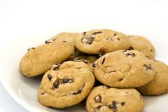 Free Chocolate Chip Cookies Stock Image - 1686791