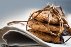 Free Chocolate Chip Cookies Stock Photo - 18753460