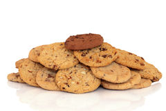 Chocolate Chip Cookies Royalty Free Stock Images