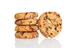 Chocolate chip cookies Stock Photo
