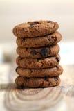 Chocolate Chip Cookies Imagens de Stock
