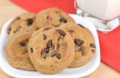 Chocolate Chip Cookies Fotografia de Stock