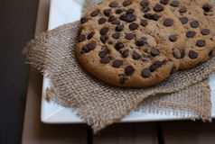 Free Chocolate Chip Cookies Stock Images - 45027854