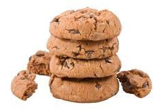 Chocolate Chip Cookies Fotos de archivo libres de regalías
